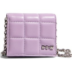 House Of Want H.o.w. We Shop Vegan Leather Wallet Crossbody Bag - Purple found on Bargain Bro Philippines from Nordstrom for $58.00