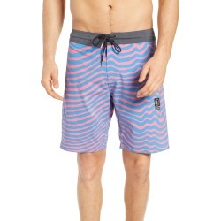 Men's Volcom Mag Vibes Stoney Boardshorts, Size 33 - Pink found on MODAPINS from Nordstrom for USD $55.00