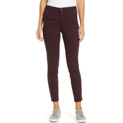 Women's Wit & Wisdom Ab-Solution High Waist Ankle Skinny Pants, Size 00 - Purple (Regular & Petite) (Nordstrom Exclusive) found on Bargain Bro from Nordstrom for USD $31.01