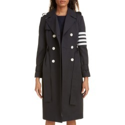 Women's Thom Browne Stripe Sleeve Waterproof Trench Coat found on Bargain Bro India from LinkShare USA for $2100.00