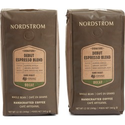 Nordstrom Ethically Sourced Decaf Debut Espresso Blend 2-Pack Whole Bean Coffee found on Bargain Bro Philippines from Nordstrom for $29.00