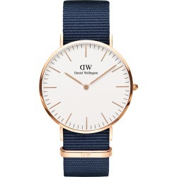 Daniel Wellington Classic Nato Strap Watch, 40mm found on MODAPINS from Nordstrom for USD $199.00