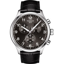Men's Tissot Chrono Xl Collection Chronograph Leather Strap Watch, 45mm found on Bargain Bro India from LinkShare USA for $375.00