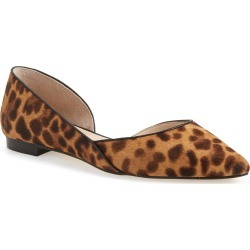 Women's Marc Fisher Ltd Sunny Genuine Calf Hair Flat, Size 7 M - Brown found on Bargain Bro Philippines from Nordstrom for $69.98
