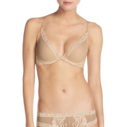 Women's Natori Feathers Underwire Contour Bra, Size 30B - Beige found on Bargain Bro India from LinkShare USA for $68.00