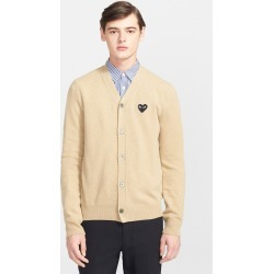 Men's Comme Des Garcons Play Lambswool Cardigan found on MODAPINS from LinkShare USA for USD $415.00