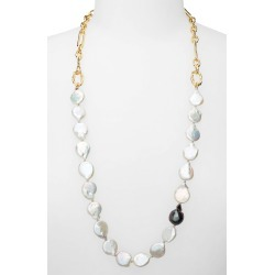 Women's Lizzie Fortunato Baroque Pearl Necklace found on Bargain Bro India from Nordstrom for $320.00