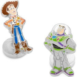 Men's Cufflinks, Inc. Woody & Buzz Lightyear Mismatched Cuff Links found on Bargain Bro from Nordstrom for USD $53.20