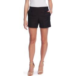 Women's Vince Camuto Doubleweave Button Shorts, Size 0 - Black found on Bargain Bro Philippines from LinkShare USA for $79.00