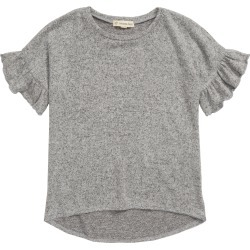 Toddler Girl's Tucker + Tate Ruffle Sleeve Cozy Top, Size 3T - Grey found on Bargain Bro Philippines from Nordstrom for $25.00
