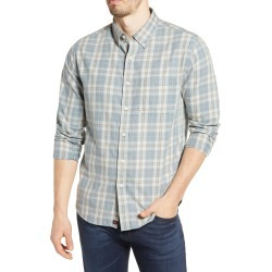 Men's The Normal Brand Midcoast Regular Fit Buttondown Long Sleeve Sport Shirt, Size Medium - Blue found on MODAPINS from Nordstrom for USD $44.00