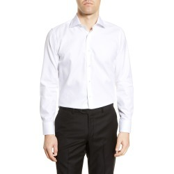Men's Canali Regular Fit Herringbone Dress Shirt found on MODAPINS from Nordstrom for USD $177.00