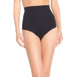 Women's Commando Control Top Thong, Size Medium - Black found on Bargain Bro Philippines from Nordstrom for $38.00