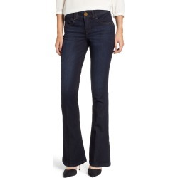 Women's Wit & Wisdom Ab-Solution Itty Bitty Bootcut Jeans, Size 6 - Blue (Regular & Petite) (Nordstrom Exclusive) found on Bargain Bro Philippines from LinkShare USA for $68.00