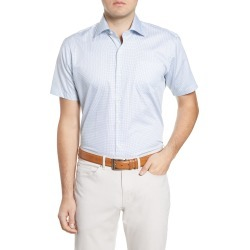 Peter Millar Chapel Ridge Short Sleeve Regular Fit Shirt at Nordstrom Rack found on Bargain Bro India from Nordstrom Rack for $145.00