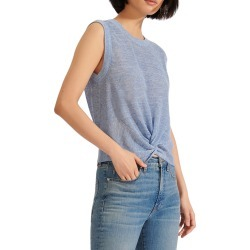 Women's Veronica Beard Kellen Sleeveless Sweater, Size X-Large - Blue found on MODAPINS from Nordstrom for USD $112.50