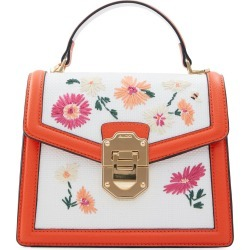Aldo Adryniel Woven Floral Handbag - White found on MODAPINS from Nordstrom for USD $60.00