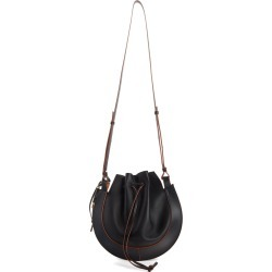 Loewe Horseshoe Leather Crossbody Bag - Black found on MODAPINS from LinkShare USA for USD $1950.00