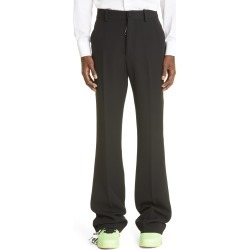 Men's Off-White Formal Chino Pants, Size 38 US/ 54 EU - Black found on MODAPINS from Nordstrom for USD $770.00
