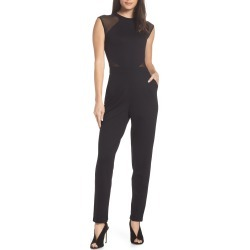 Women's French Connection Viven Jumpsuit, Size 2 - Black