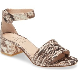 Women's Agl Ankle Strap Sandal, Size 8.5US - Beige found on MODAPINS from Nordstrom for USD $370.00