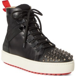 Men's Christian Louboutin Smartic Spike High Top Sneaker, Size 10US / 43EU - Black found on Bargain Bro Philippines from Nordstrom for $1195.00