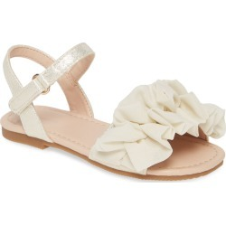 Toddler Girl's Something Navy Poof Sandal, Size 8 M - Ivory (Walker & Toddler) (Nordstrom Exclusive) found on Bargain Bro Philippines from Nordstrom for $19.96