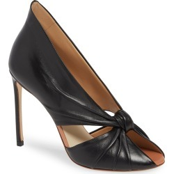 Women's Francesco Russo Knotted Peep Toe Pump found on Bargain Bro India from Nordstrom for $990.00