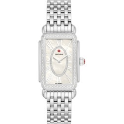 Women's Michele Deco Park Diamond Dial Watch Head & Bracelet; 27mm X 37mm found on MODAPINS from Nordstrom for USD $2395.00