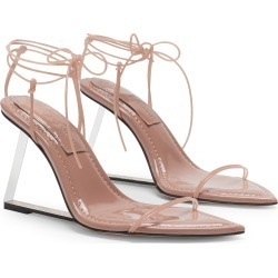 Women's Good American Wedge Sandal, Size 5 M - Pink found on Bargain Bro from Nordstrom for USD $148.20