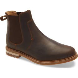 Men's Clarks Foxwell Top Chelsea Boot, Size 10.5 M - Brown found on Bargain Bro India from Nordstrom for $130.00