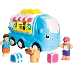 Wow Toys Kitty Camper Van Toy Set