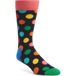 Men's Happy Socks Big Dots Socks found on MODAPINS from Nordstrom for USD $4.80