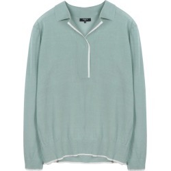 FRNCH Long Sleeve Collared Sweater at Nordstrom Rack found on MODAPINS from Nordstrom Rack for USD $66.00