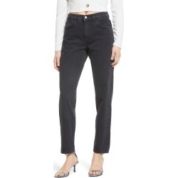 Women's Aware By Vero Moda Nadine High Waist Relaxed Jeans, Size 27 - Black found on MODAPINS from Nordstrom for USD $65.40