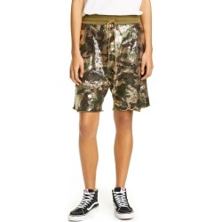 Women's R13 Sequin Camo Panel Shorts, Size Large - Green found on Bargain Bro Philippines from LinkShare USA for $178.50