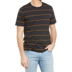 Men's Madewell Men's Curtis Stripe Allday Crewneck T-Shirt, Size Medium - Black found on Bargain Bro from Nordstrom for USD $26.60