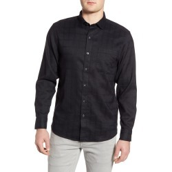 Men's Tommy Bahama Costa Capri Classic Fit Linen Blend Button-Up Shirt, Size Small - Black found on Bargain Bro India from Nordstrom for $125.00