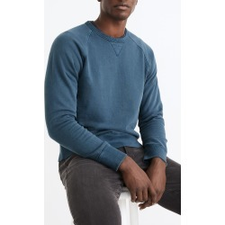 Men's Madewell Garment Dyed Crewneck Sweatshirt, Size Small - Blue found on Bargain Bro from Nordstrom for USD $60.42