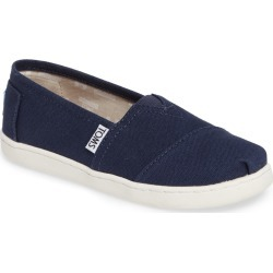 Toddler Toms 2.0 Classic Alpargata Slip-On, Size 3 M - Blue