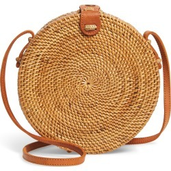 Nordstrom Woven Rattan Canteen Bag - Brown found on Bargain Bro India from LinkShare USA for $89.00