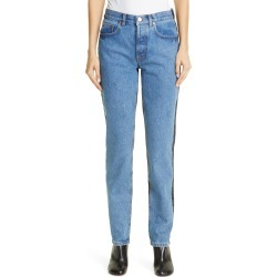 Women's Vetements 50-50 High Waist Slim Jeans found on MODAPINS from Nordstrom for USD $1415.00