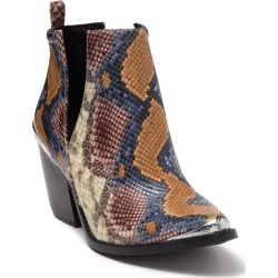 Jeffrey Campbell Cossack Snake-Embossed Leather Western Ankle Boot at Nordstrom Rack found on MODAPINS from Nordstrom Rack for USD $215.00