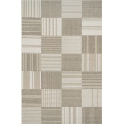 Couristan Patchwork Indoor/outdoor Rug, Size 2ft 2in x 7ft 10in - Beige found on Bargain Bro India from LinkShare USA for $79.00