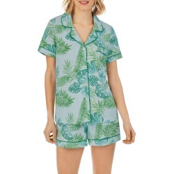 Women's Bedhead Pajamas Classic Shorty Pajamas, Size X-Small - Green found on MODAPINS from Nordstrom for USD $98.00