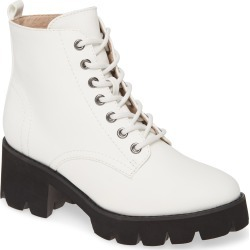 Women's Bc Footwear Strength In Numbers Vegan Leather Bootie, Size 8.5 M - White