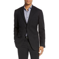 Men's Nordstrom Tech-Smart Trim Fit Stretch Wool Travel Sport Coat, Size 42 Short - Black found on MODAPINS from Nordstrom for USD $299.00
