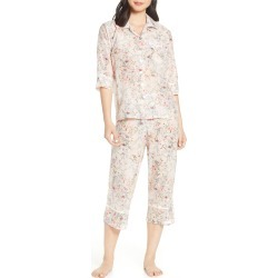 Women's Papinelle Yolly Crop Cotton & Silk Pajamas found on MODAPINS from Nordstrom for USD $53.40