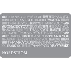 Nordstrom Many Thanks Gift Card $75