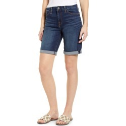 Women's Jen7 By 7 For All Mankind High Waist Denim Bermuda Shorts, Size 0 - Blue found on MODAPINS from Nordstrom for USD $47.40